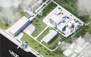 Wettbewerbsverfahren Gas- und Dampfheizkraftwerk Wedel
