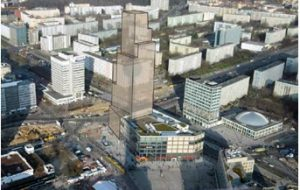 Hochhausturm am Alexanderplatz – Bebauungsplan I-B4a-3