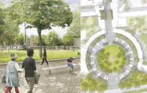 Landschaftplanerischer Realisierungswettbewerb Mehringplatz