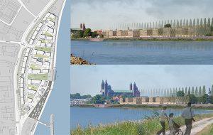 Städtebaulicher Wettbewerb Neuordnung Rheinufer-Alte Ziegelei Speyer